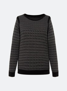 [B5230] 모노 패턴 니트