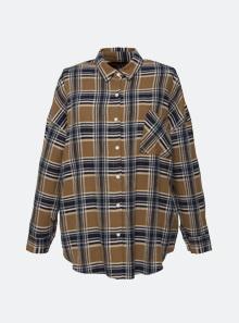 [B5519] 자가드 체크 셔츠